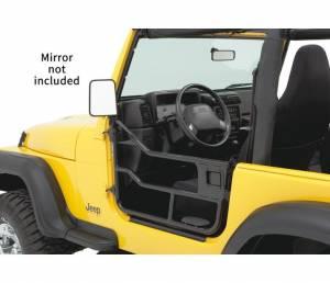 Exterior - Doors - Bestop - Bestop HighRock 4x4 Element Doors -  Jeep 1997-2006 Wrangler 51809-01