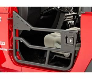 Exterior - Doors - Bestop - Bestop HighRock 4x4 Element Doors; Rear -  Jeep 2007-2018 Wrangler JK Unlimited 51827-01