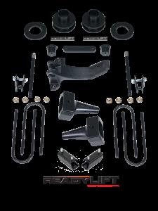 Suspension - Lift Kits - ReadyLift - ReadyLift 2011-16 FORD F250/F350/F450 2.5'' SST Lift Kit with 5'' Rear Tapered Blocks 69-2511TP
