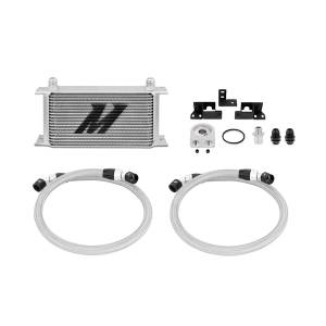 Performance - Oil System & Parts - Mishimoto - Mishimoto Jeep Wrangler JK Oil Cooler Kit MMOC-WRA-07