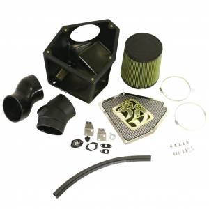 Air Intakes - Air Intake Kits - BD Diesel - BD Diesel Rumble B 5in Air Intake Kit c/w Sensor Ports - Dodge 2003-2018 5.9L/6.7L 1405710