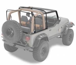 Tops & Parts - Soft Top Parts - Bestop - Bestop Replacement Bows And Frames; OE style - Jeep 1988-1995 Wrangler 55004-01