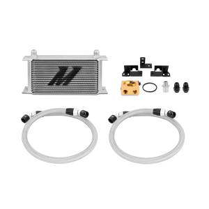 Performance - Oil System & Parts - Mishimoto - Mishimoto Jeep Wrangler JK Thermostatic Oil Cooler Kit MMOC-WRA-07T