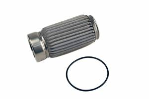Aeromotive Fuel System - Aeromotive Fuel System 100 M Stainless Filter Element, Crimp, Fits (12304, 12307, 12324, 12354) 12614