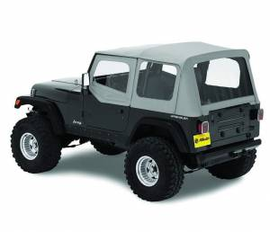 Tops & Parts - Soft Tops - Bestop - Bestop Replace-A-Top Fabric-only Soft Top - Jeep 1988-1995 Wrangler 51120-09