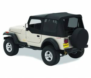 Tops & Parts - Soft Tops - Bestop - Bestop Replace-A-Top Fabric-only Soft Top - Jeep 1988-1995 Wrangler 51120-15
