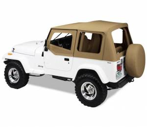 Tops & Parts - Soft Tops - Bestop - Bestop Replace-A-Top Fabric-only Soft Top - Jeep 1988-1995 Wrangler 51120-37