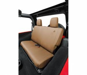 Interior - Seat Covers - Bestop - Bestop Seat Cover; Rear - Jeep 2008-2012 Wrangler Unlimited 29281-04