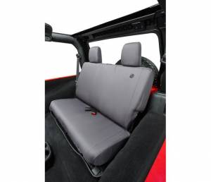 Interior - Seat Covers - Bestop - Bestop Seat Cover; Rear - Jeep 2008-2012 Wrangler Unlimited 29281-09