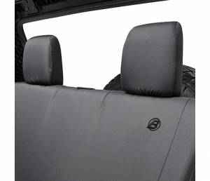 Interior - Seat Covers - Bestop - Bestop Seat Cover; Rear - Jeep 2008-2012 Wrangler Unlimited 29281-35