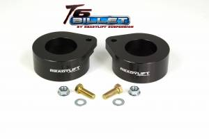 Suspension - Leveling Kits - ReadyLift - ReadyLift 2007-17 JEEP JK 2'' Coil Spring Spacer Leveling Kit T6 Billet Black T6-6092-K