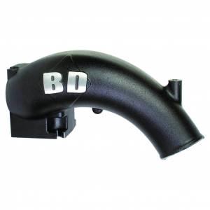 Air Intakes - Accessories - BD Diesel - BD Diesel X-Flow Power Intake Elbow (Black) - Dodge 2003-2007 5.9L 1041555