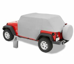 Hoods & Accessories - Hood Parts and Accessories - Bestop - Bestop All-weather Trail Cover Jeep 2007-2018 Wrangler Unlimited 81041-09