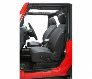 Interior - Seat Covers - Bestop - Bestop Seat Covers; Front - Jeep 2007-2012 Wrangler 2DR And 4DR 29280-35
