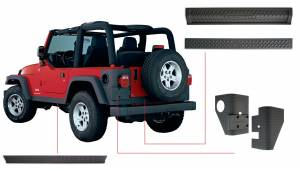 Exterior - Body Armor & Sliders - Bushwacker - Bushwacker TRAIL ARMOR 14902