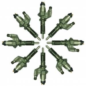 Fuel System - Injectors - BD Diesel - BD Diesel BD Duramax LB7 CR Injector Set Chevy 2001-2004 - Stage 2 90HP / 43% 1076601