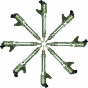 Fuel System - Injectors - BD Diesel - BD Diesel BD Duramax LLY CR Injector Set Chevy 2004-2006 - Stage 1 60HP / 33% 1076605