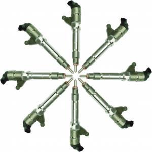 Fuel System - Injectors - BD Diesel - BD Diesel BD Duramax LLY CR Injector Set Chevy 2004-2006 - Stage 2 90HP / 43% 1076606