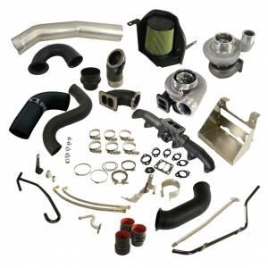 Turbos & Accessories - Turbos & Kits - BD Diesel - BD Diesel BD Cummins 5.9L Cobra Twin Turbo Kit S366SX-E / S486 BD - Dodge 2003-2007 5.9L 1045794