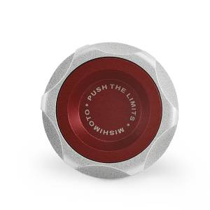 Performance - Oil System & Parts - Mishimoto - Mishimoto GM LS Engine Oil Filler Cap, Red MMOFC-LSX-RD
