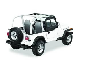 Exterior - Doors - Bestop - Bestop Upper Door Sliders - Jeep 1988-1995 Wrangler 51785-15