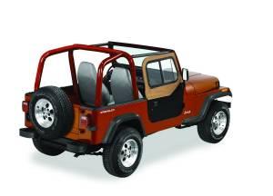 Exterior - Doors - Bestop - Bestop Upper Door Sliders - Jeep 1988-1995 Wrangler 51785-37