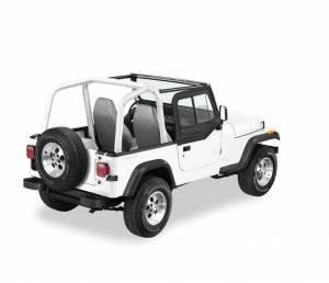 Exterior - Doors - Bestop - Bestop Upper Door Sliders - Jeep 1988-1995 Wrangler 51786-15