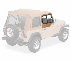 Exterior - Doors - Bestop - Bestop Upper Door Sliders - Jeep 1988-1995 Wrangler 51786-37