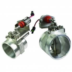 Air Intakes - Accessories - BD Diesel - BD Diesel Positive Air Shut-Off - 2.0in Generic Manual Activation 1036734-M