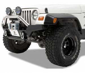 Exterior - Bumpers - Bestop - Bestop HighRock 4x4 Front Bumper - Jeep 1997-2006 Wrangler; Full-width 42917-01