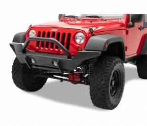 Exterior - Bumpers - Bestop - Bestop HighRock 4x4 Front Bumper - Jeep 2007-2018 Wrangler JK 2DR & 4DR 42918-01