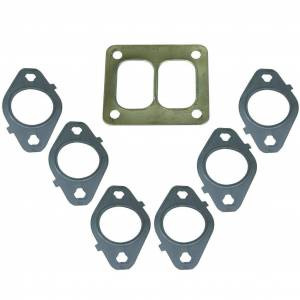 Exhaust Components - Exhaust Accessory Hardware - BD Diesel - BD Diesel Gasket Set, Exhaust Manifold T4 Mount - Dodge 1998.5-2018 5.9L/6.7L 1045986-T4