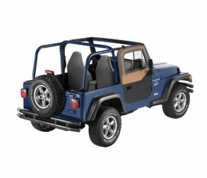 Exterior - Doors - Bestop - Bestop Upper Door Sliders - Jeep 1997-2006 Wrangler 51787-37