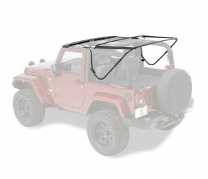 Tops & Parts - Soft Top Parts - Bestop - Bestop Replacement Bows And Frames; OE style - Jeep 2007-2018 Wrangler JK 2DR 55000-01