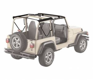 Tops & Parts - Soft Top Parts - Bestop - Bestop Replacement Bows And Frames; OE style - Jeep 1997-2006 Wrangler 55002-01