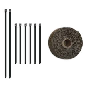 Exhaust Components - Exhaust Accessory Hardware - Mishimoto - Mishimoto Exhaust Heat Wrap Set MMTW-235