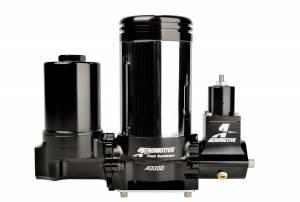 Fuel System - Pumps - Aeromotive Fuel System - Aeromotive Fuel System A3000 Drag Race Carbureted Fuel Pump Complete (Includes Pump, Filter, Regulator) 11215