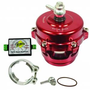 Turbos & Accessories - Turbos Parts & Accessories - BD Diesel - BD Diesel Turbo Guard Kit - Aluminum Adapter / Red Valve 1047250AR