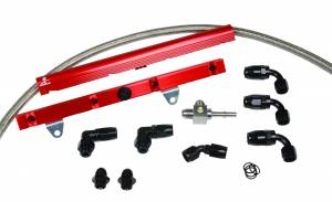 Aeromotive Fuel System - Aeromotive Fuel System 1999 thru 2004 C5 Corvette Rail Kit 14128