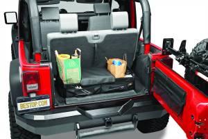Interior - Cargo & Storage - Bestop - Bestop RoughRider Cargo Trunk Organizer - Jeep 1987-2018 54137-35