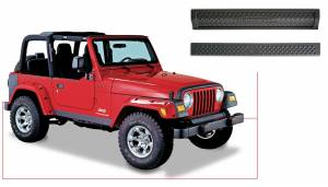 Exterior - Body Armor & Sliders - Bushwacker - Bushwacker TRAIL ARMOR 14003