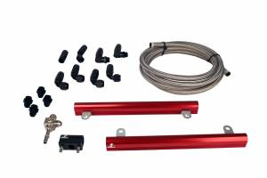 Aeromotive Fuel System - Aeromotive Fuel System 07 Ford 5.4L GT500 Mustang Fuel Rail Kit 14145