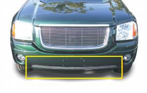 Exterior - Grilles - T-Rex - T-Rex Billet Bumper Grille, Polished, Aluminum, 1 Pc, Bolt-On 25386