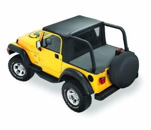 Tops & Parts - Soft Tops - Bestop - Bestop Halftop - Jeep 1992-1995 Wrangler 53818-15