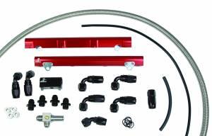 Aeromotive Fuel System - Aeromotive Fuel System 1998 1/2 thru 2004 Ford DOHC 4.6 Liter Fuel Rail Kit (Cobra) 14122
