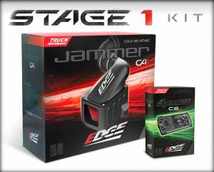Air Intakes - Air Intake Kits - Edge Products - Edge Products Jammer Cold Air Intakes 19000