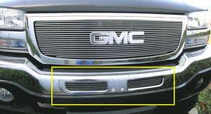 Exterior - Grilles - T-Rex - T-Rex Billet Bumper Grille, Polished, Aluminum, 1 Pc, Bolt-On 25201