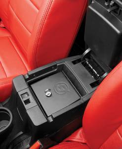 Interior - Cargo & Storage - Bestop - Bestop Lock Box for Center Console - Jeep 2011-2018 Wrangler JK 2DR & 4DR 42643-01
