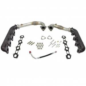 Turbos & Accessories - Turbos Parts & Accessories - BD Diesel - BD Diesel BD 6.4L Powerstroke Exhaust Manifold Set Ford 2008-2010 1041481