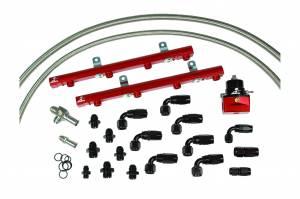 Aeromotive Fuel System - Aeromotive Fuel System 1999-2004 Ford 5.4L Lightning and; Harley 1/2 Ton Truck Billet Fuel Rail Kit 14127